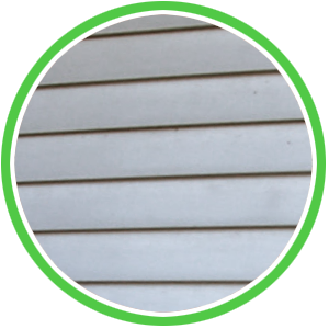 avoid pressure washing vinyl siding to remove algae and dirt but softwash instead