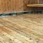clean wood deck without pressure washing in west michigan