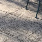 west michigan concrete patio cleaning service on dirty cement