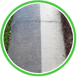 sidewalk cleaning before and after in grand rapids, mi