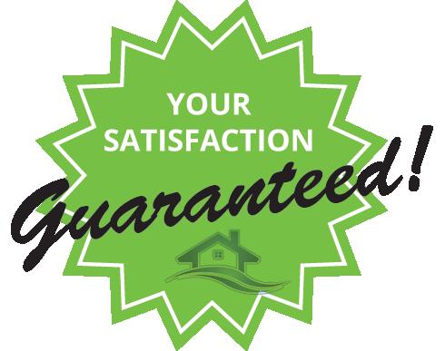 platinum property solutions satisfaction guaranteed badge